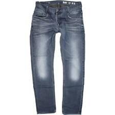 G-Star Radar Men Blue Skinny Slim Jeans W36 L34 (48554)