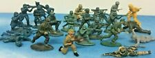 Vintage Toy Soldiers Job Lot X26 Army Military Troopers War Mixed Colours 1960's