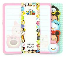 DISNEY TSUM TSUM 80 pages MEMO BLOCK NOTEPAD MICKEY MINNIE MOUSE CUTE KIDS GIFT