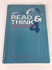 A Beka Read And Think Skill Sheets 4 - A Beka Book Publications