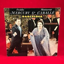 "FREDDIE MERCURY & MONTSERRAT CABALLE Barcelona 1987 German 7"" vinyl Single  F"