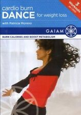 CARDIO BURN DANCE FOR WEIGHT LOSS PATRICIA MORENO DVD NEW SEALED WORKOUT