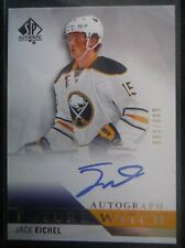 2015-16 SP Authentic AUTO Rookie * JACK EICHEL * RC! #ed/999 Buffalo HOT 2016 UD