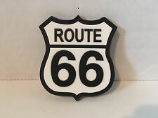 """Route 66 Refrigerator magnet 2 1/4 X 2 1/4"""" New"""