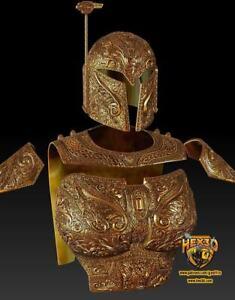 Raw Deluxe Cosplay Armor and Helmet RAW Star Wars Cosplay, Helmet Mandalorian Co