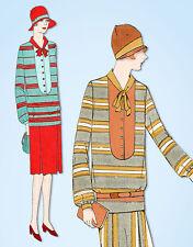 1920s VTG Ladies Home Journal Sewing Pattern 5141 Uncut Misses Flapper Dress 34B