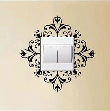 Decrative light switch decal sticker home decor