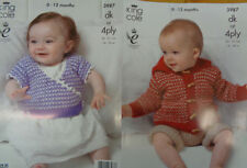 Baby DK/Double Knit Mixed Lots Patterns