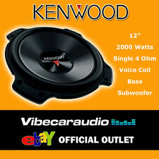 """Kenwood 12"""" 30cm 2000 Watts SVC 4 Ohm High Quality Car Bass Subwoofer Deal Offer"""