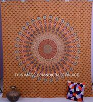Mandala Indien Tapisseries Tenture Murale Hippie Couvre-Lit Bohème Jeté de Lit