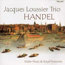 Jacques Loussier - Handel: Water Music And Royal Fireworks (NEW CD)