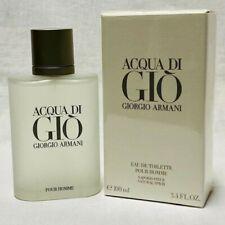 Aqua Acqua Di Gio Eau de Toilette EDT 3.3 / 3.4 by Giorgio Armani Men NEW