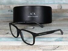 ARMANI EXCHANGE AX3029 8182 Matte Black Demo Lens 54 mm Men's Eyeglasses