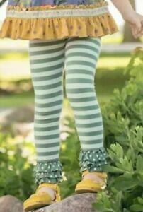 Matilda Jane Smarty Pants Leggings Size 6 Girls Choose your own path
