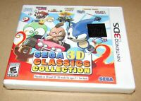 Sega 3D Classics Collection (Nintendo 3DS) Brand New / Fast Shipping