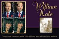Mayreau 2010- Royal Engagement Prince William & Kate Middleton - Sheet of 4 -MNH
