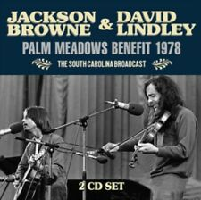 Jackson Browne & David Lindley - Palm Meadows Benefit 1978 (2cd) NEW 2 x CD