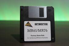 Ensoniq MR Series Factory Demo Songs - MR61 MR76  - Fastest Shipping MR-61 MR-76