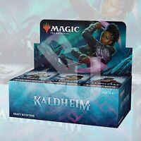 MAGIC: THE GATHERING KALDHEIM DRAFT BOOSTER BOX | FACTORY SEALED MTG