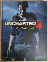 The Art of Uncharted 4 Artbook Neuwertig Like New Concept Artist Character 3D