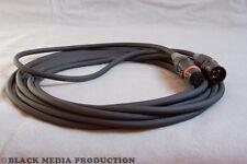 XLR Mikrofonkabel Stage 22 Highflex schwarz | 5m, HiCon, Outdoor IP65 *NEU*