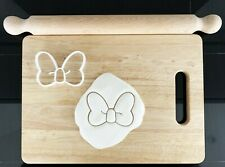 Bow Tie Cookie Cutter Cake Decoration Pastry Dough Biscuit