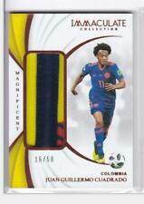 2018-19 Juan Guillermo Cuadrado #/50 Patch Immaculate Colombia Soccer