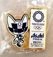 2020 Tokyo Olympic ASAHI SPONSOR MIRAITOWA MASCOT pin