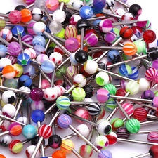 30pcs Wholesale Bulk Sexy Barbell Tongue Nipple Ring Body Piercing Jewelry