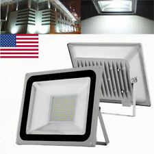 2X 100W Cool White 110V High Power LED Outdoor Flood Light Spotlight SMD IP65