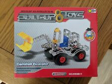 Built up Toys Metal Alloy Shovel Loader 167 Pieces - BRAND NEW - Meccano