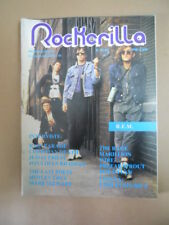 ROCKERILLA n°59-60 1985 REM The Rage Marillion Motley Crue Judas Priest  [G872]
