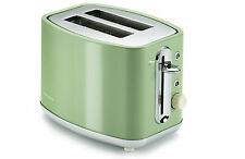 Morphy Richards 220002 Elipta GRN Stainless Steel 2 Slice Toaster Classic Retro