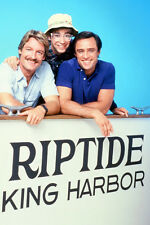 Joe Penny As Nick Ryder And Perry King As Cody Allen Riptide 11x17 Mini Poster