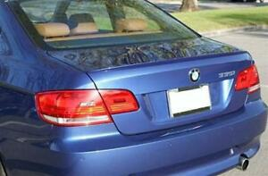 BMW Painted Le Mans Blue 381  E92 COUPE ABS BOOT LIP SPOILER M3 STYLE OME FIT