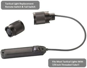 Streamlight/Surefire Compatible Weapon Light Remote Switch With 1inch Diameter