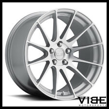 "20"" MRR GROUND FORCE GF6 SILVER CONCAVE WHEELS RIMS FITS INFINTI G35 SEDAN"