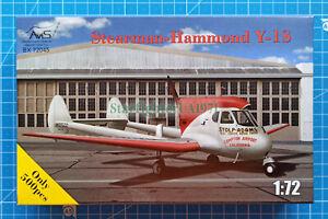 1/72 Stearman-Hammond Y-1S (AviS BX 72045)