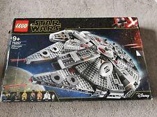 Lego Star Wars 75257 Halcón Milenario Perfecto Estado Mini Higos + Soporte de exhibición
