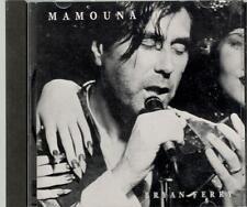 Bryan Ferry, Mamouna; Pr Single w/ 3 Live Tracks