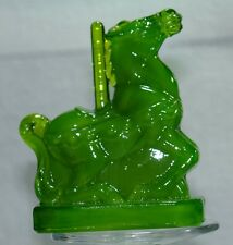 Boyd Glass Taffy the Carousel Horse Avocado