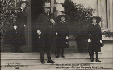 Konig Friedrich August v. Sachsen nebst Prinzess Tochtern Margarete Anna Alix