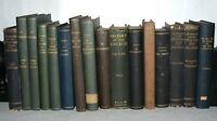 16x Antiquarian BOOKS Shelf Fillers- Antique- Foreign , 19th Century, HB,(16A)