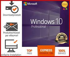 MS Windows 10 Professional Pro 32/64bit✔Vollversion✔Key✔Lizenz✔️Expressversand