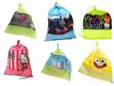 Kids Boys & Girls Drawstring Storage Small Bag Badroom Tiday School gym Swimming