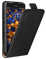 Mumbi Premium Leder Flip Case Sony Xperia Z3 Compact Tasche