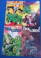 TROLLORDS lot of (4) #1 #3 #4 #5 (1986) Tru Studios Comics  VG+/FINE-