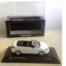 Minichamps ref 400 045630 Opel Astra Twin top weiss série limitée 768 pc 1/43ème