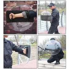 PC Round Anti-Riot Circular Shield Police Tactical CS Campus Self Defence Tool