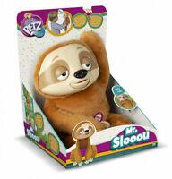 WOW!! Club Petz MR SLOOOU Talking Soft Toy SLOTH Kids Pet Fun Present